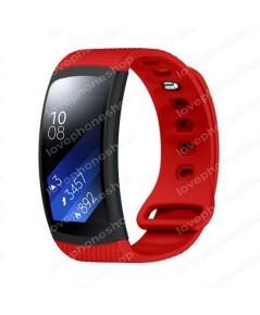 สายนาฬิกา Samsung Gear Fit2 (SM-R360) แบบSport สีแดง ส่งฟรี!!