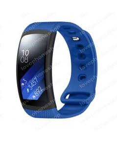 สายนาฬิกา Samsung Gear Fit2 (SM-R360) แบบSport สีฟ้า ส่งฟรี!!