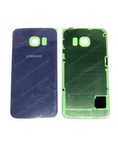ฝาหลัง Samsung Galaxy S6 Edge G925 G925F G925FQ สีน้ำเงิน (Original Genuine Part) ส่งฟรี!