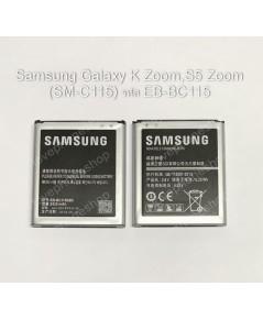 แบตเตอรี่ แท้ Samsung Galaxy K Zoom,S5 Zoom (SM-C115,C111) รหัส EB-BC115 - 2430 mAh With NFC (ส่งฟรี
