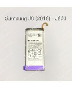 แบตเตอรี่ แท้ Samsung Galaxy J8 (2018)- EB-BJ800ABE/3000mAh (ส่งฟรี)