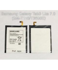 แบตเตอรี่ แท้ Samsung GALAXY  Tab 3 Lite 7.0 SM-T110 รหัส T3600E 3600mAh (ส่งฟรี)
