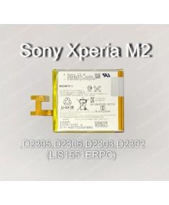 แบตเตอรี่แท้ Sony Xperia M2 ,D2305,D2306,D2303,D2302 รหัส LIS1551ERPC ส่งฟรี!!