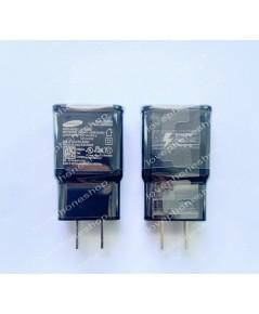 หัวชาร์ต แท้ Samsung Galaxy S5,S4,Note2,Note3,Note4,E3,E5,E7 ฺ(Black) แบบ USB Output 2.0 A. ส่งฟรี!!