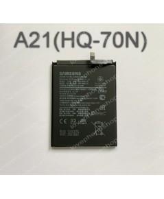 แบตเตอรี่ แท้ Samsung Galaxy A21(HQ-70N)/4000mAh (ส่งฟรี)