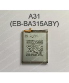 แบตเตอรี่ แท้ Samsung Galaxy A31(EB-BA315ABY)/5000mAh (ส่งฟรี)
