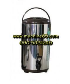 ถังเก็บชา ถังพักชา 12 ลิตร  สีน้ำตาล