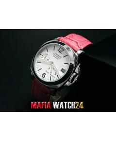 M0271 นาฬิกา Panerai Luminor Power Reserve Lady Boy Size 40 mm. Pam 90