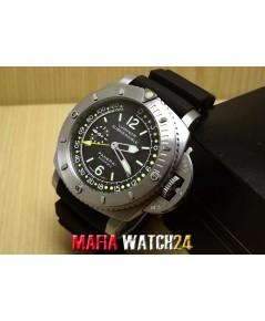 M0405 นาฬิกา Panerai Luminor Submersible PAM193 Depth guage black dial 47 mm. Mirror Case Swiss
