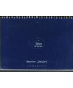 ปฏิทินตั้งโต๊ะ ของ American Standard ชุด 25th American Standard