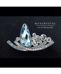 เข็มกลัด คริสตัลสวารอฟสกี้ (Embellished with Crystals from Swarovski®)