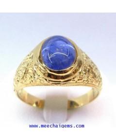 แหวนพลอยไพลินซีลอนแท้