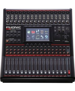 Phonic Digital Console An impressive mixer with a full-color touchscreen GUI. สินค้าใหม่ครับ