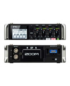 Zoom F4 Multitrack Field Recorder 24-bit/192kHz, 6-in/4-out Field Audio Recorder/Mixer and USB Audio