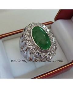 แหวนหยกพม่า(งานสั่งทำ)