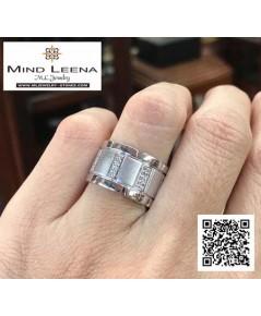 แหวนเพชรแท้  งานมือสอง