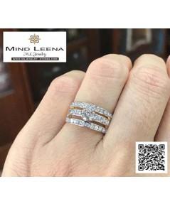 แหวนเพชรแท้ (งานมือสอง)
