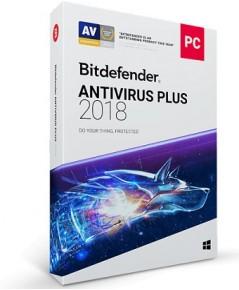 Bitdefender Ativirus Plus 2018