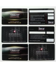 บัตรสมาชิก บัตรส่วนลด บัตรสมาชิก บัตรโฆษณา พีวีซี Card PVC 2 ด้าน