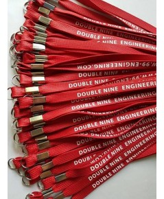 สายคล้องคอแบบสกรีนนูน DOUBLE NINE ENGINEERING CO.,LTD