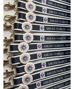 สายคล้องคอพิมพ์ลาย sublimation ASEAN –NARCO