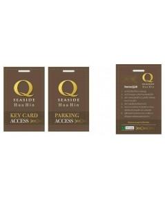 บัตรคีย์การ์ด Q SEASIDE HUA HIN