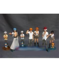 BLEACH Characters Trading Figure 6 ชิ้น + ตัวลับ