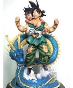 Dragonball Z Goku  Ubu Buu Shenron Resin Statue Diorama