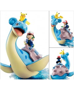 Pokemon - G.E.M.Series Ash  Pikachu  Lapras