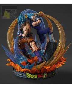 F4 Studio new project 1/6 Goku Blue  Vegeta Blue