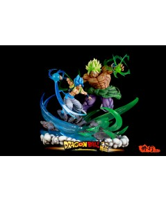 Master Grade Studio Dragonball Broly VS Gogeta LED Limited Resin Statue