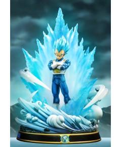 Figure class Vegeta Blue  ( Blue aura + blue armor ver )