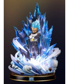 Figure class Vegeta Blue ( Blue Clear aura + black armor ver )