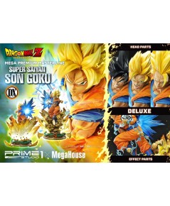 Prime 1 Studio Super Saiyan Son Goku ( Dragon Ball Z) Deluxe Ver 1/4 Scale