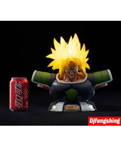 Desktop series 001 broly bust with LED light up