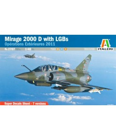 Mirage 2000D with LGBs 1/48 Italeri