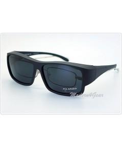 แว่นกันแดดเแบบสวมทับแว่นสายตา รุ่น DY025