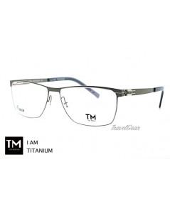 กรอบแว่นตา TM Titanium รุ่น I Am Titanium AR230 02B Silver