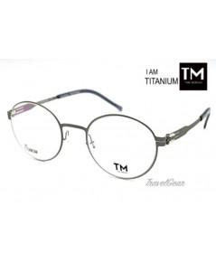 กรอบแว่นตา TM Titanium รุ่น I Am Titanium AR226 02B Silver