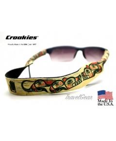 สายคล้องแว่นตา Croakies XL รุ่น Sub NG Wolf