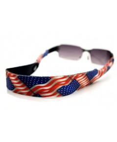 สายคล้องแว่นตา Croakies XL รุ่น USA Flag