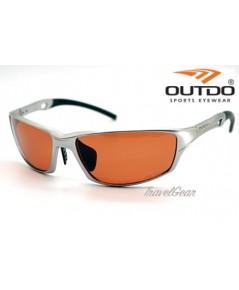 แว่นกันแดด OUTDO Polarized รุ่น AL112 P2 ( เลนส์สี Cooper )