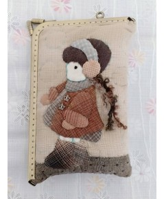 กระเป๋าผ้าใส่ของจุกจิก - Handmade Bag