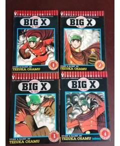 ยอดมนุษย์ BIG X บิ๊กเอ็กซ์ เล่ม 1-4 จบ