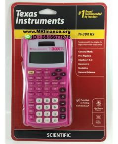 เครื่องคิดเลขวิทยาศาสตร์ Texas Instruments TI-30X IIS สีชมพู ของใหม่ ของแท้