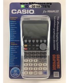 เครื่องคิดเลขกราฟิกคาสิโอ Casio fx-9860GII (สินค้ามาแล้วครับ) ของใหม่ ของแท้