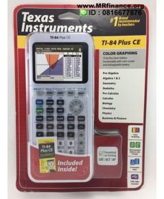 เครื่องคิดเลขกราฟิก Texas Instruments TI-84 Plus CE (สีขาวทูโทน) ของใหม่ ของแท้ รุ่นใหม่ล่าสุด
