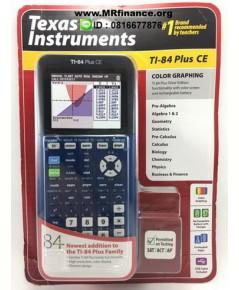 เครื่องคิดเลขกราฟิก Texas Instruments TI-84 Plus CE (สีน้ำเงิน) ของใหม่ ของแท้ รุ่นใหม่ล่าสุด