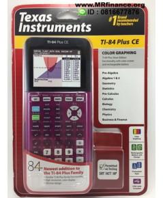 เครื่องคิดเลขกราฟิก Texas Instruments TI-84 Plus CE (สีชมพูทูโทน)ของใหม่ ของแท้ รุ่นใหม่ล่าสุด จอสี