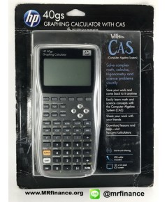 เครื่องคิดเลขกราฟิก HP 40gs Graphing Calculator with CAS